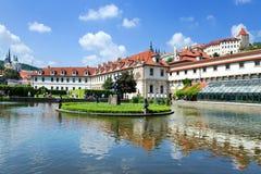 Palazzo di Wallenstein, Praga, repubblica Ceca Immagini Stock Libere da Diritti