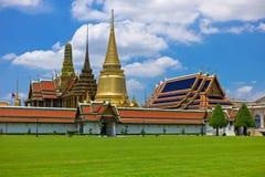 Palazzo di Wat Phra Kaew a Bangkok Immagini Stock Libere da Diritti