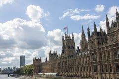 Palazzo di Westminster Fotografie Stock