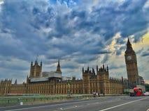 Palazzo di Westminster, Londra fotografia stock libera da diritti