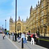 Palazzo di Westminster, Londra, Regno Unito Fotografie Stock Libere da Diritti