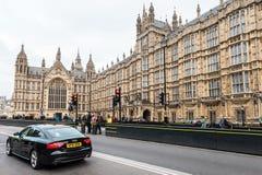 Palazzo di Westminster o il Parlamento del Regno Unito Fotografia Stock Libera da Diritti
