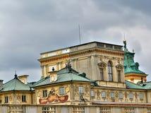 Palazzo di Wilanow a Varsavia Fotografie Stock Libere da Diritti