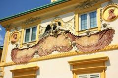 Palazzo di Wilanow a Varsavia, Polonia Immagini Stock