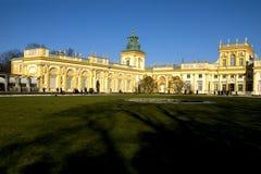 Palazzo di Wilanow a Varsavia, Polonia Fotografia Stock Libera da Diritti