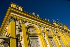 Palazzo di Wilanow a Varsavia, Polonia - particolare Immagine Stock Libera da Diritti