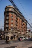 Palazzo di Wukang, Xuhui Shanghai, Cina fotografia stock libera da diritti