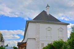Palazzo di zar nel monastero dell'uomo di Savvino-Storozhevsky in Zvenigorod, Russia Fotografie Stock Libere da Diritti