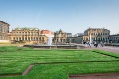 Palazzo di Zwinger a Dresda Fotografia Stock