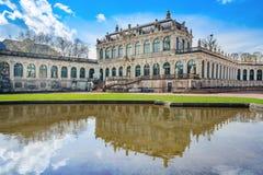 Palazzo di Zwinger, Dresda Fotografia Stock Libera da Diritti