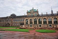 Palazzo di Zwinger a Dresda della Germania Fotografia Stock