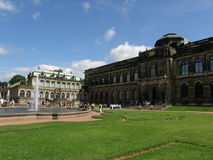 Palazzo di Zwinger a Dresda, Sassonia, Germania Fotografia Stock