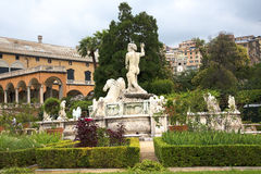 The Palazzo Doria Pamphili in Genoa Italy Stock Images