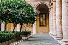 Palazzo Doria Pamphilj Courtyard royalty free stock photography