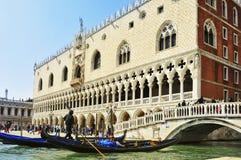 Palazzo Ducale在威尼斯,意大利 库存图片