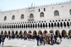 Palazzo ducale在威尼斯 免版税库存图片