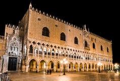 Palazzo Ducale,威尼斯,意大利 免版税库存图片