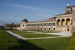 Palazzo Ducale,曼托瓦,意大利 图库摄影