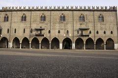Palazzo Ducale à Mantova Photo libre de droits