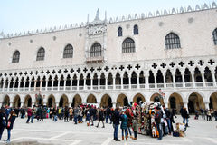 Palazzo ducale στη Βενετία Στοκ εικόνα με δικαίωμα ελεύθερης χρήσης