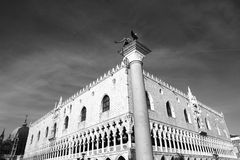 Palazzo ducale. The famous Palazzo Ducale in the main squaren of Venice royalty free stock photography