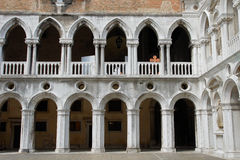 Palazzo Ducale Stock Afbeelding