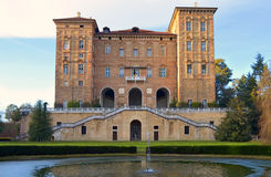 Palazzo Ducale in Aglie\', Italy. Duke\'s Castle in Aglie\', Italy. Baroque palace Stock Images
