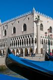 Palazzo Ducale building located at Venice, Italy Royalty Free Stock Photo