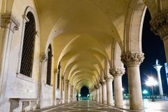 Palazzo Ducale building located at Venice, Italy Stock Photography