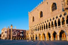 Palazzo Ducale building located at Venice, Italy Royalty Free Stock Photography