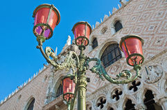 Palazzo Ducale building located at Venice, Italy Royalty Free Stock Image