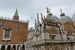 Palazzo Ducale (Doge παλάτι) στη Βενετία, Ιταλία Στοκ εικόνα με δικαίωμα ελεύθερης χρήσης