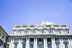 Palazzo Ducale a Genova, Italia fotografia stock libera da diritti