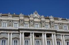 Palazzo Ducale Genua - Genoa Landmarks arkivfoto