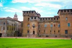 Palazzo Ducale i Mantua Arkivfoton