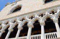 Palazzo Ducale i Venedig, Italien arkivbilder