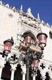 Palazzo ducale-I-Venetië-Italië Royalty-vrije Stock Afbeeldingen
