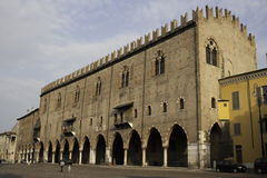 Palazzo Ducale in Mantova Stock Photos