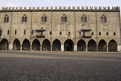Palazzo Ducale in Mantova Royalty Free Stock Photo