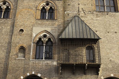 Palazzo Ducale in Mantova. Fragment of Palazzo Ducale in Mantova (Mantua), Italy Royalty Free Stock Photography