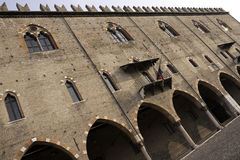 Palazzo Ducale in Mantova Stock Photography