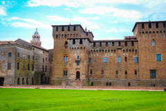 Palazzo Ducale in Mantua Stock Photos