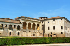Palazzo Ducale (palácio ducal) em Mantua, Itália Foto de Stock