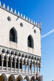 Palazzo Ducale - Palast des Doges stockfoto
