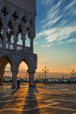 Palazzo Ducale Sunrise Royalty Free Stock Photo