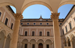 Palazzo Ducale - Urbino Fotografie Stock Libere da Diritti