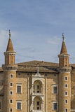 Palazzo ducale in Urbino Royalty Free Stock Photos