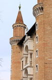 Palazzo Ducale in Urbino Stock Photo