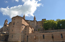 Palazzo Ducale in Urbino Royalty Free Stock Images
