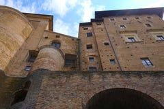 Palazzo Ducale in Urbino Stock Photos